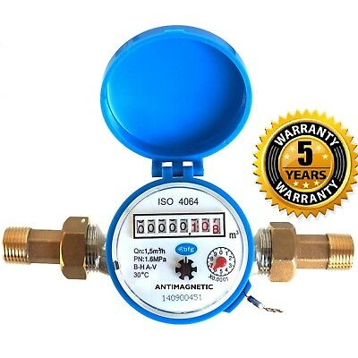 "15mm 1/2"" Cold Water Meter :: Garden & Home :: With Free Fittings"