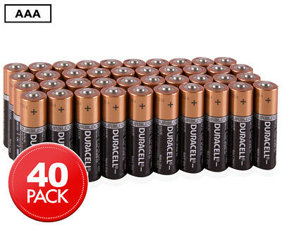 Duracell AAA Batteries 40-Pack