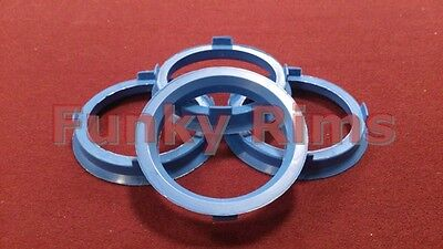 Spigot Rings for Aftermarket Alloys 67.1 - 56.1mm BMW MINI One Cooper S Clubman