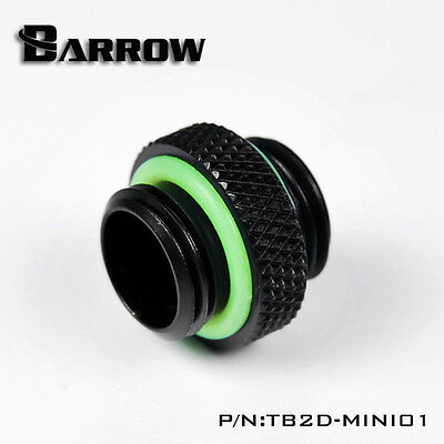 """Barrow G1/4"""" M-M Male to Male Adapter Fitting Hex Nipple Connector Short"""