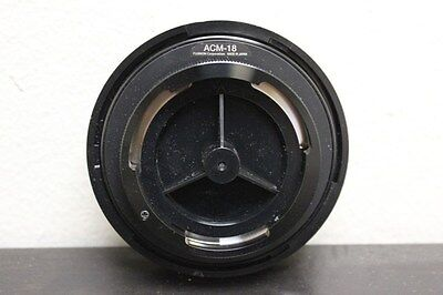 """Fujinon ACM-18 ACM18 1/2"""" Lens Adapter for Sony PMW-EX3 Camera ACM18 Great Cond!"""