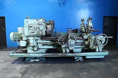 "20.5"" Swing x 43"" Center Warner & Swasey MDL 2A Turret Lathe  4 3/4"" Hole"