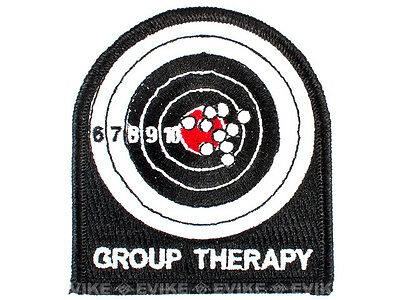 The Tactical US Made Group Therapy Combat Army Morale Hook/loop Patch