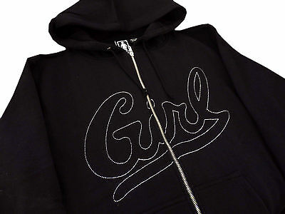 GIRL SKATEBOARDS SCRIPT Hoodie L Xl Thrasher Supreme Skate