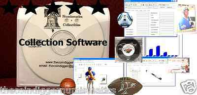 EASY 2 USE TheCoinDiggers Sports Collection Software Inventory