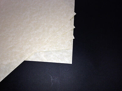 Buff Parchment Effect Card For Craft & Inkjet Printers 50 Sheets A4 150gsm