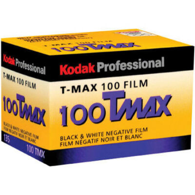 8 Rolls Kodak 100 Tmax TMX film 35mm 36 exposures Black & White T Max 09/2015