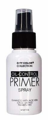 CITY COLOR Collection Long Lasting Oil Control Primer Make Up Setting Spray