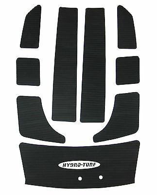 New Hydro-Turf Self Adhesive Black Deck Mats For All Yamaha Wave Blaster 2 PWC