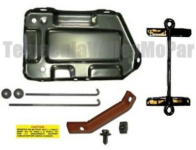 Battery Tray & Hold-Down Set for 1970-1976 Mopar A-Body