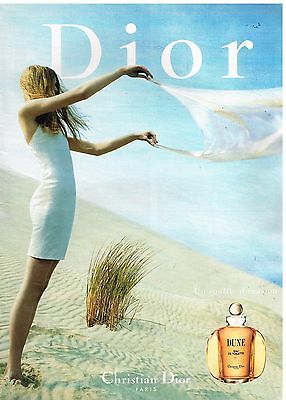 Publicité Advertising 1999 Parfum Dune par Christian Dior