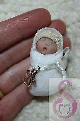 One of a kind Bundle baby handsculpted Memorial, Infant loss, Miscarriage, Angel