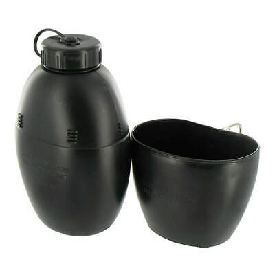 58 Pattern Military Water Bottle & Mug - In Black , Army, Cadets, Hikers