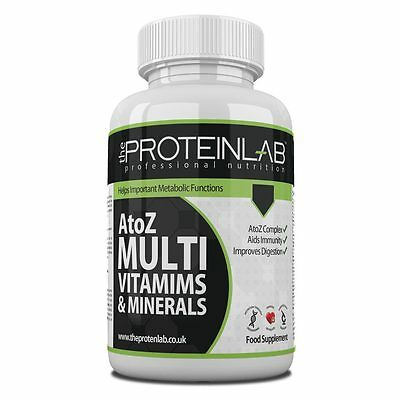Multi Vitamins & Minerals A-Z One a Day Tablets Vitamin Supplements High Quality