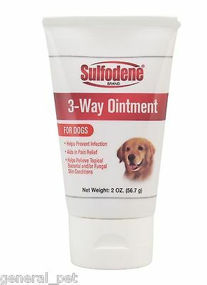 Sulfodene 3-Way Ointment  for Dogs 2oz