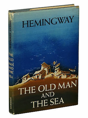 The Old Man and the Sea by ERNEST HEMINGWAY ~ First Edition 1952 ~ 1st Printing