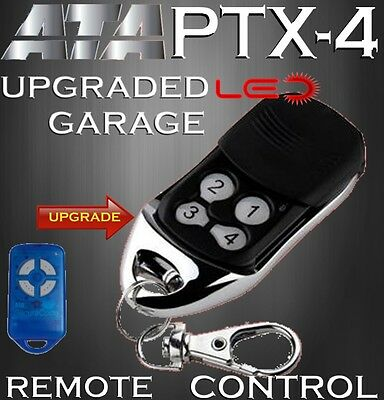 ATA PTX-4 SecuraCode Compatible GARAGE DOOR REMOTE CONTROL Replacement Upgrade