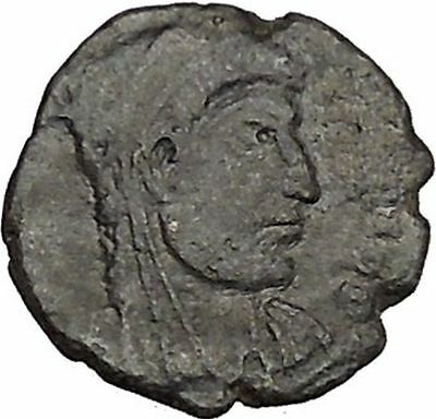CONSTANTINE the GREAT Deification with Globe Christogram RARE Roman Coin i41697