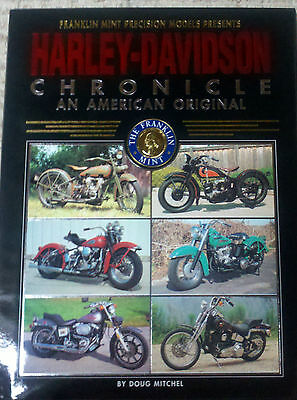 Harley-Davidson Chronicle An American Original Franklin Mint Precision Models