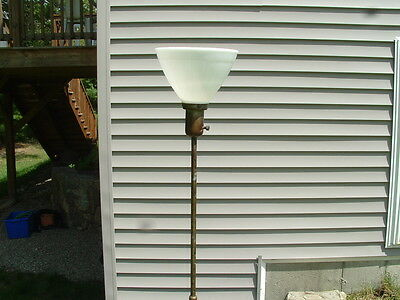 Antique 1920's-1930's Cast Iron Floor Lamp