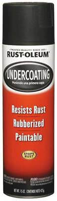 RUST-OLEUM 248657 15 oz. Rubberized Black Undercoating