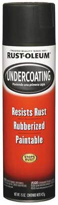 RUST-OLEUM 248657 Rubberized Undercoating, Black, 15 oz
