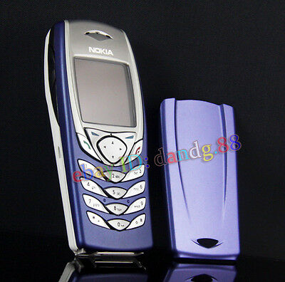 Refurbished NOKIA 6100 Mobile Cellular Cell Phone GSM Triband Original Blue Gift