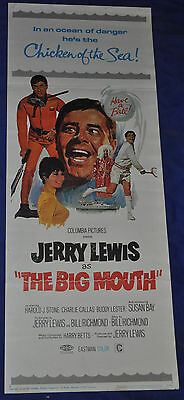 The Big Mouth Original 14x36 Insert U.S. Movie Poster - (1967) ITB WH