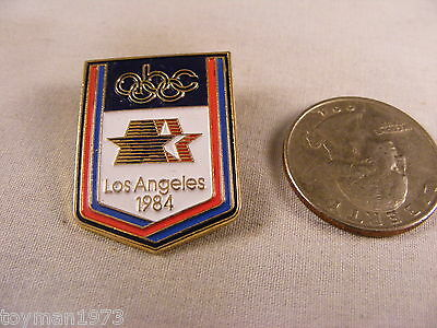 1984 LOS ANGELES OLYMPIC PIN ABC
