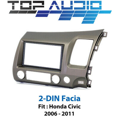 Honda Civic stereo Radio DOUBLE 2 DIN facia Kit Fascia dash panel trim