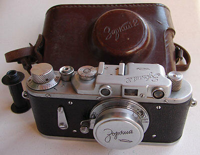 Rare Zorki-2 1955 Soviet Collectible 35mm RF camera with Industar-22 3.5/50 lens