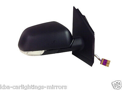 Vw Volkswagen Polo 2005-2009 Electric Door Wing Mirror Rh Right O/s Driver Side