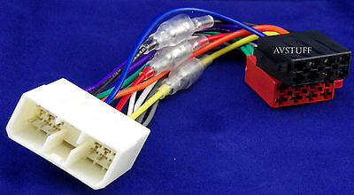 Iso Wiring Harness Loom Plugs Holden Commodore Vr Vs Car Stereo Radio