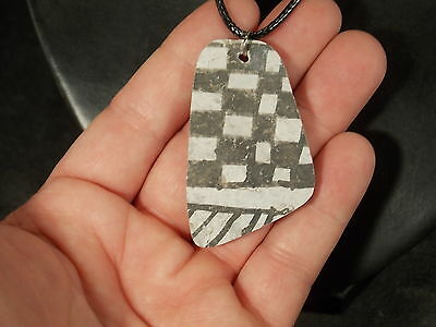 A Neat Design! on this Anasazi Pottery Shard Necklace!