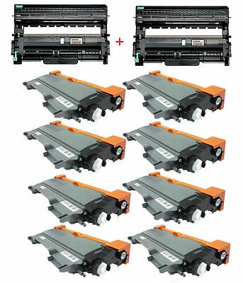 10PK (8TN450 Toner + 2DR420 Drum units) for Brother DCP-7060,DCP-7065DN