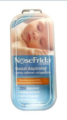 Genuine Nosefrida Nose Frida Snotsucker Baby Toddler Nasal Aspirator