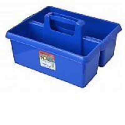 Blue Tack Tray / Tack Box  For Use When Grooming Horses, Made In The Uk