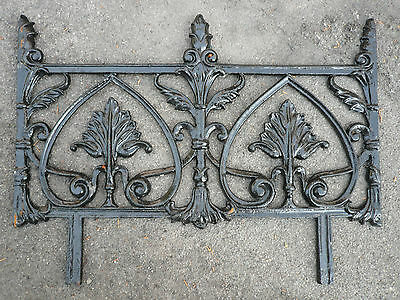 Recast Decorative Cast Iron Railing Garden Edging Gates & Railings