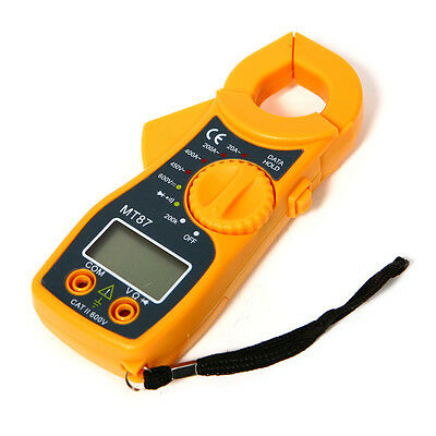 Accurate Digital Multimeter Electronic Automatic Tester AC/DC Clamp Meter  New