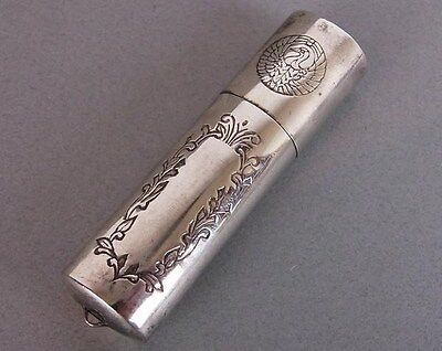 Silver Accessory case Pill case Japanese Antique. 31.9gs