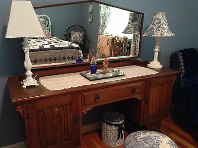 REDUCED!  antique vanity dressing table