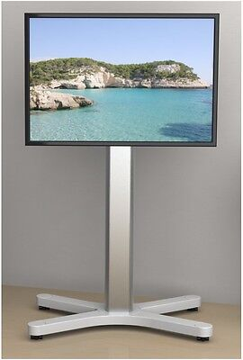 lcd plasma led tv st nder standfuss auf rollen bis 60. Black Bedroom Furniture Sets. Home Design Ideas