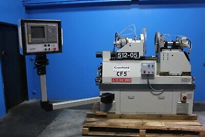 Cranfield CNC 2822 Twin Spindle ID OD Precision Metal EDGE Grinder