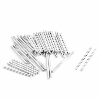RC Helicopter Model Stainless Steel Round Rod Bar Axle 30mm x 2mm 50Pcs