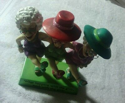 What happens with the girls figurine