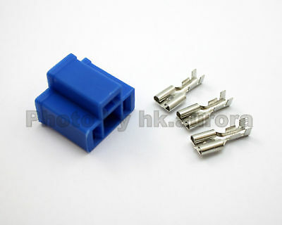 1x H4 9003 HB2 HID Xenon Headlight Female connector Plug wire socket pin light