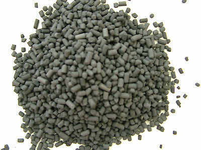 400 GRAMS  ACTIVATED CARBON PELLETS (5mm) DISCUS MALAWI TROPICAL FISH KOI