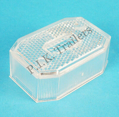 Aspock Flexipoint Clear Front Marker LENS Ifor Williams Brian James Trailer