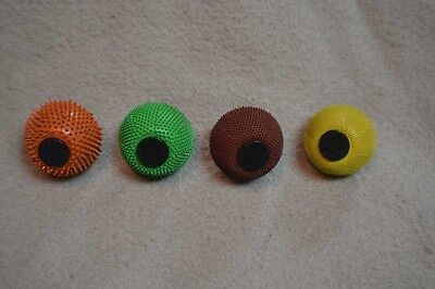 "10% discount Set of 4 1-3/4"" Carving Cup Rasps  -  Adapters included 1/4"" shaft"