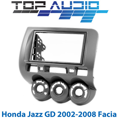 Honda Jazz GD DOUBLE 2 DIN car stereo radio facia Fascia Dash kit Panel Trim